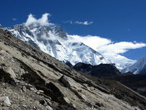 Mt.Lhotse Photographie stock