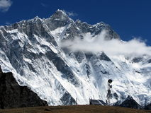 Mt.Lhotse Photos stock