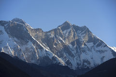 Mt Lhotse Royalty Free Stock Photo