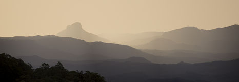 Mt Lindsay Ranges Royalty Free Stock Photography