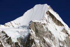 Mt. Lingtren 6713m Royalty Free Stock Photo