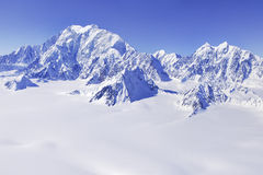 Mt Logan in Yukon unesco Stock Photos