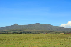 Mt Longonot Kenya Royaltyfria Foton