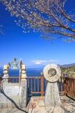Mt 从Lover's海角的富士视图 库存图片