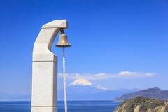 Mt 从Lover's海角的富士视图 图库摄影