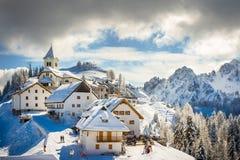 Mt. Lussari Stock Image