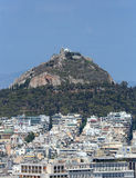 Mt. Lycabettus in Athens, Greece Royalty Free Stock Photography