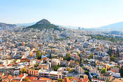 Mt Lycabettus in the morning, Athens, Greece Stock Images