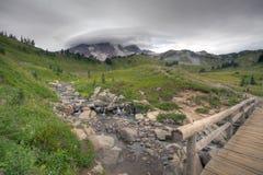Mt más lluvioso Fotografía de archivo