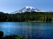 Mt. Mais chuvoso Imagem de Stock