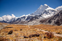 Mt. Makalu Stock Image