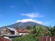Mt. Marapi. West Sumatera, Indonesia Royalty Free Stock Photo