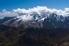 Mt. Marmolada Royalty Free Stock Photography