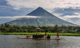 Mt Mayon fotografia stock