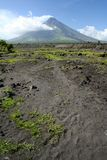 Mt mayon volcano philippines Stock Images