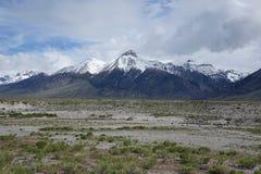 Mt McCaleb -马偕,爱达荷 免版税图库摄影