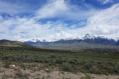 Mt McCaleb -马偕,爱达荷 免版税库存照片