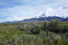 Mt McCaleb, Mackay -, Idaho Zdjęcia Stock