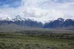 Mt McCaleb, Mackay -, Idaho Obrazy Stock