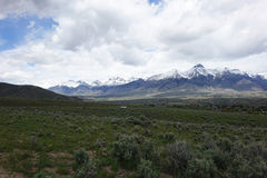 Mt. McCaleb - Mackay, Idaho Stock Photography
