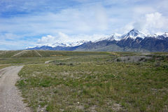 Mt McCaleb nära Mackay, Idaho Royaltyfria Bilder