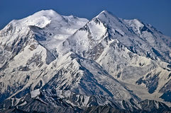 Mt McKinley North and South Peak Royalty Free Stock Image