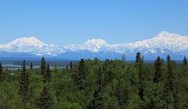 Mt McKinley Stock Image
