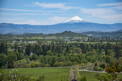 Mt Mcloughlin, Oregon. View of Mt mcloughlin from the Table Rock Upper Trail Royalty Free Stock Image