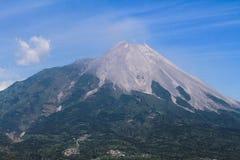 Mt Merapi Imagem de Stock Royalty Free