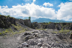 Mt. Merapi . Java, Indonesia Stock Image