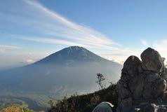 Mt Merbabu zdjęcia stock