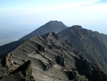 Mt MERU - Arusha Stock Photo