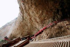 Mt Mian-Berg, Jiexiu, Shanxi Stockbild