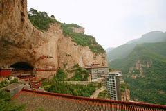 MT Mianberg, Jiexiu, Shanxi stock afbeelding