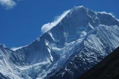 Mt. Minya Konka. Named Gongga also, photo in 2006 Stock Image