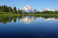 Mt.Moran Royalty Free Stock Photography