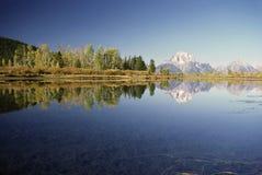 Mt.Moran Стоковая Фотография