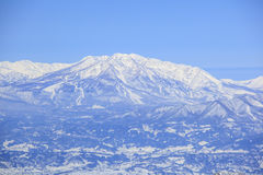 Mt. Myoko in winter Royalty Free Stock Photography