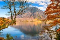 Mt. Nantai in Japan Stock Photos