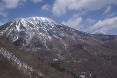Mt. Nantai, Nikko National Park, Japan Stock Photo