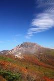 Mt. Nasudake in autumn Stock Image