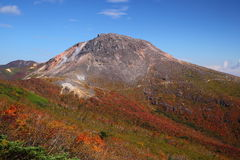 Mt. Nasudake in autumn Stock Photo