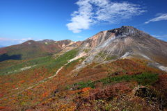 Mt. Nasudake in autumn Stock Photography