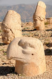 Mt Nemrut God heads Stock Photo