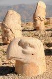 Mt Nemrut God heads Stock Photo