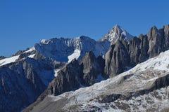 Mt Nesthorn, Swiss Alps Stock Photography