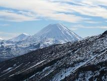 Mt Ngauruhoe Immagini Stock