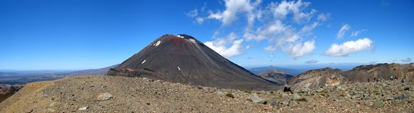 Mt. Ngauruhoe Photo libre de droits