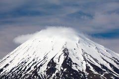 Mt Ngauruhoe Landscape Royalty Free Stock Photography