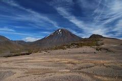 Mt. Ngauruhoe Volcano Stock Photos